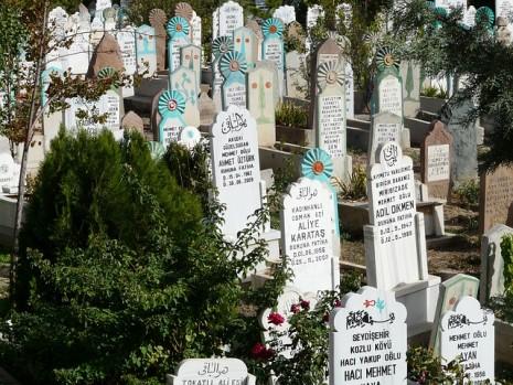 خلم دخول المقبرة ورؤية القبور