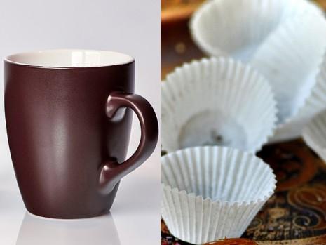 Cupcake Cups كأس الكب كيك من الورق أو الكوب