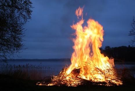 اشعال النار