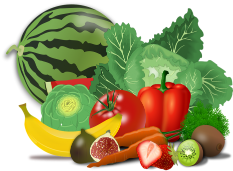 Fruits and vegetables group