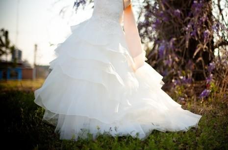 لباس فستان ابيض