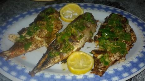 سمك مقلي او مشوي للحلم
