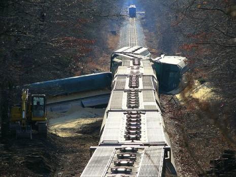 رؤية تحطم القطار أو حادث في الحلم