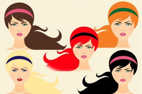 تفسير رؤية صبغ ألوان الشعر بالاحمر والاسود والاشقر في الحلم