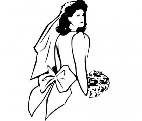 تفسير ارتداء ولبس فساتن الزفاف في المنام لابن سيرين