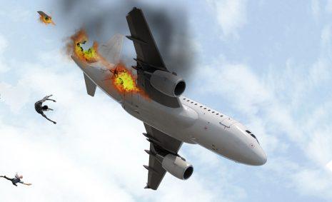 تفسير حلم سقوط الطائرة وتحطمها في المنام